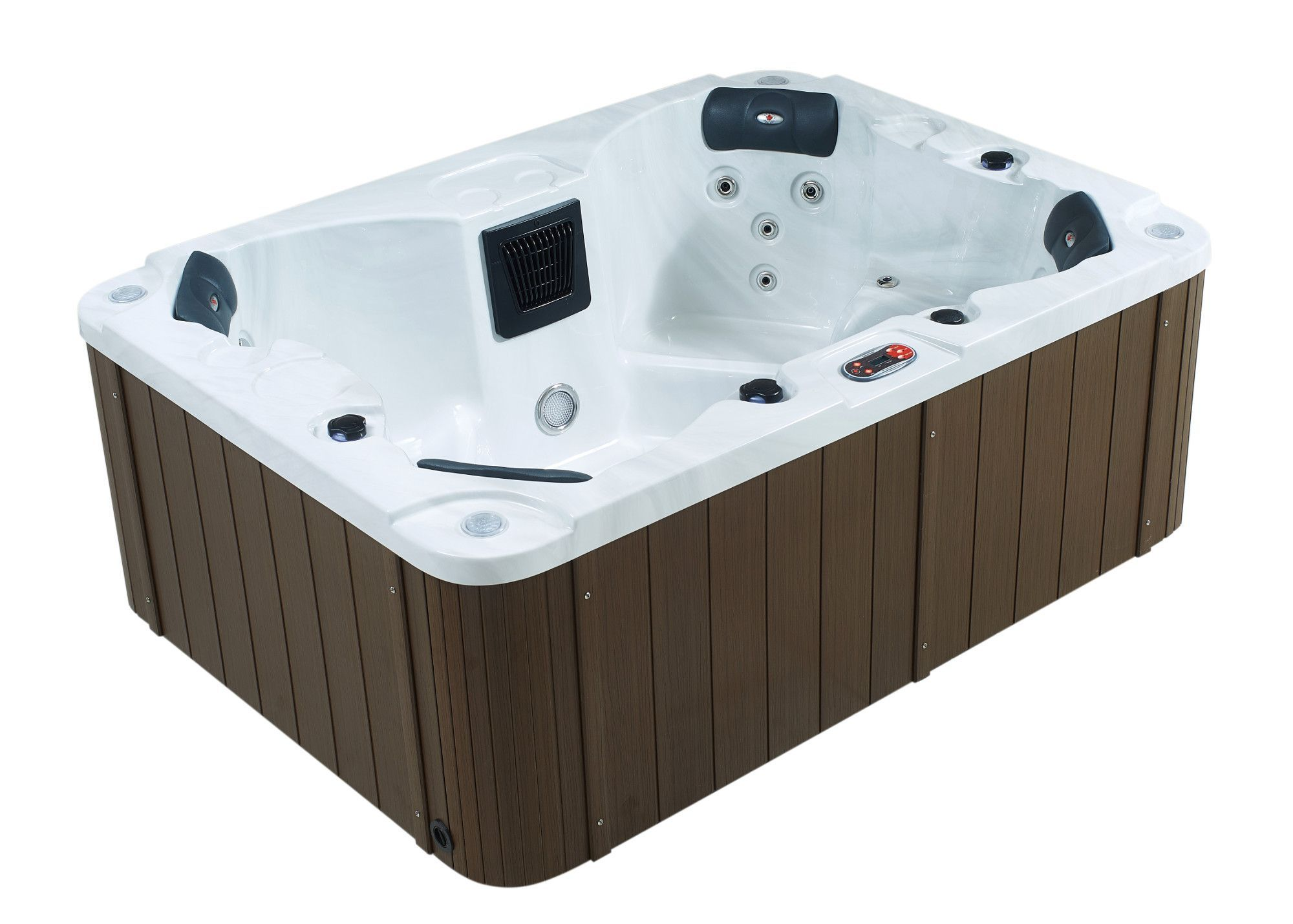 Halifax 4 Person 22 Jet Plug And Play Spa With Waterfall