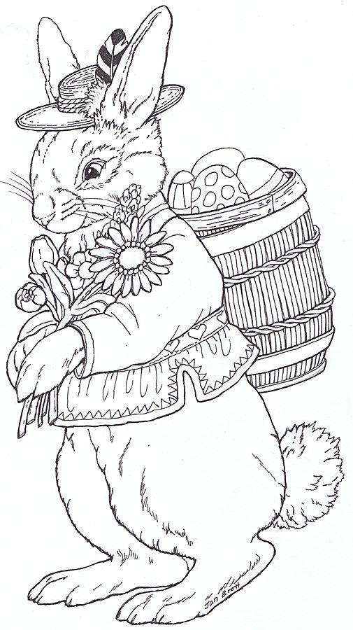 Conejos | mandalas uge | Pinterest | Conejo, Colorear y Bordado
