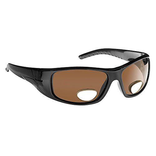 298ef76087 Fisherman Eyewear-Polar View-Black Frame-Brown Polarized Lens-Bifocal 3.00   fashion  clothing  shoes  accessories  unisexclothingshoesaccs ...