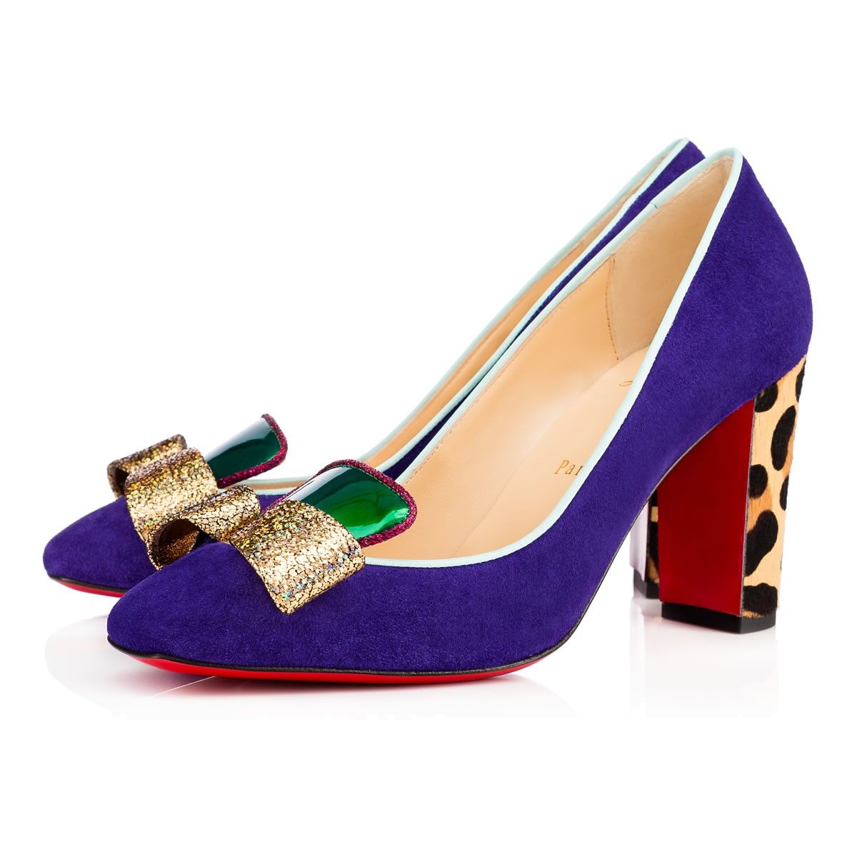 Christian Louboutin United States Official Online Boutique - Lagoyata 85  Version Encre Suede available online. Discover more Women Shoes by  Christian ...