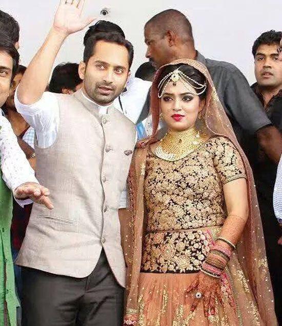 Actress Nazriya Enters Wedlock Noted Nazriyam Today Married Malayalam Actor Fahad Fazil At