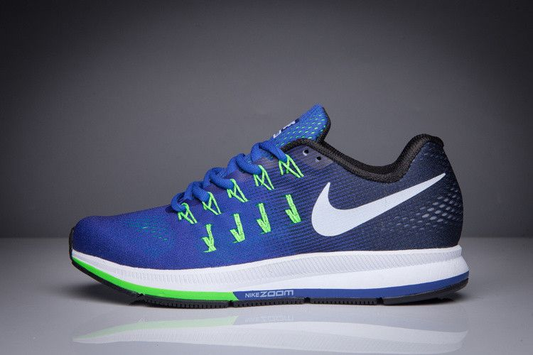 Nike Air Zoom Pegasus 33 Navy Blue Green