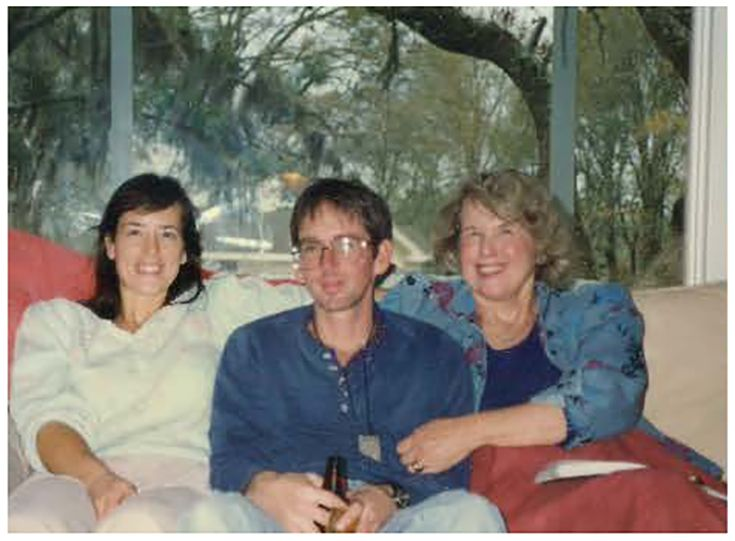 Me (Caroline Campbell Compton Tommaney Kline), my daughter Susie, and my son Tommy in Round Top, Texas.