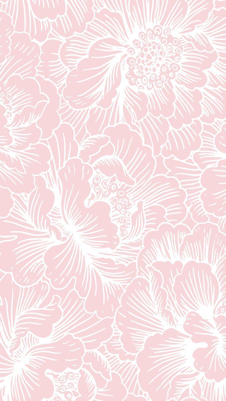 patterns 花柄の壁紙, 色