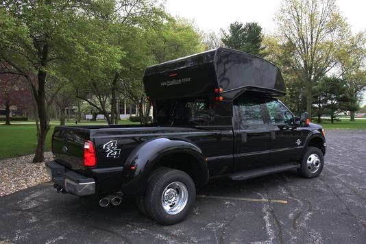 Zoom Room Sleeper Truck Camper Rv Campers Custom Truck Beds Truck Camper Trucks