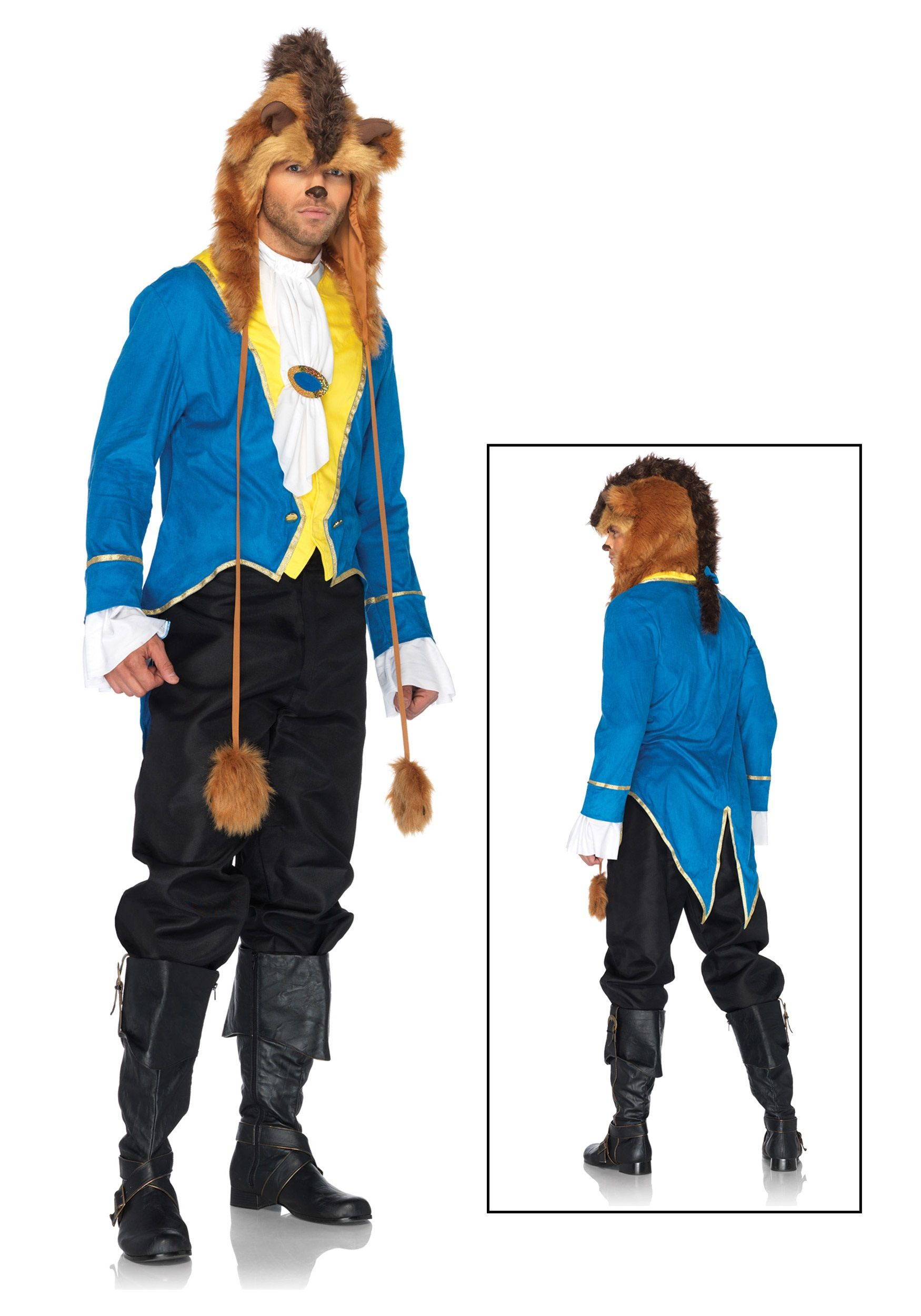 Mens Disney Beast Costume Beauty and the beast costume