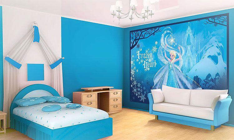 Decoraci n frozen para habitaciones infantiles for Habitaciones infantiles disney