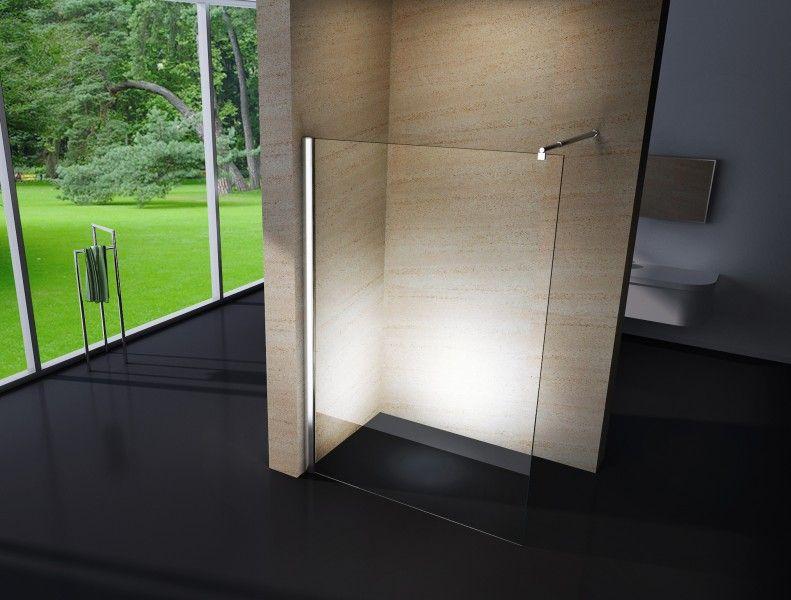 Duschabtrennung Walk-In NANO Echtglas EX101 - Breite wählbar - badezimmer online planen