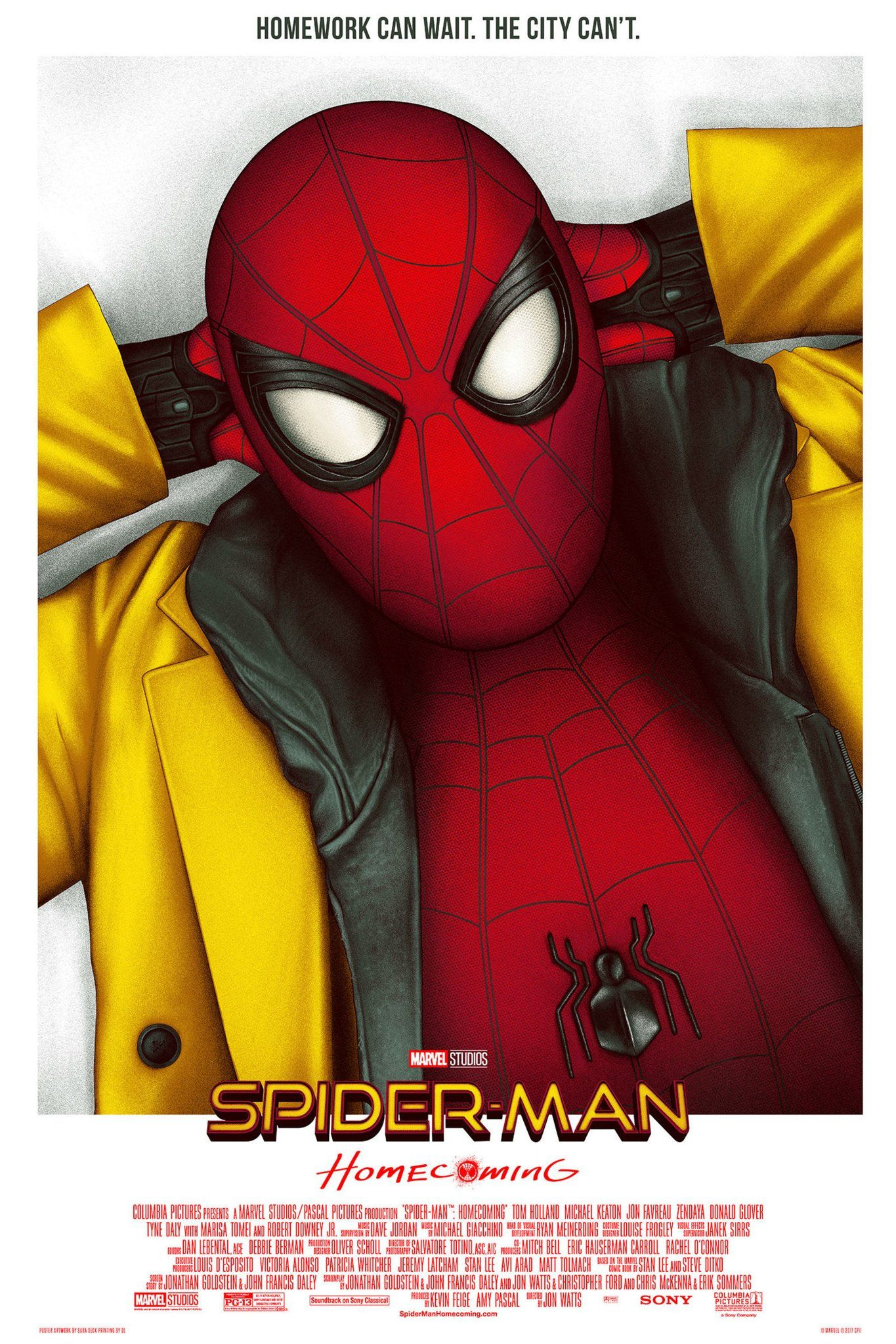 SPIDER-MAN; HOMECOMING Movie PHOTO Print POSTER Tom Holland Peter Parker 013