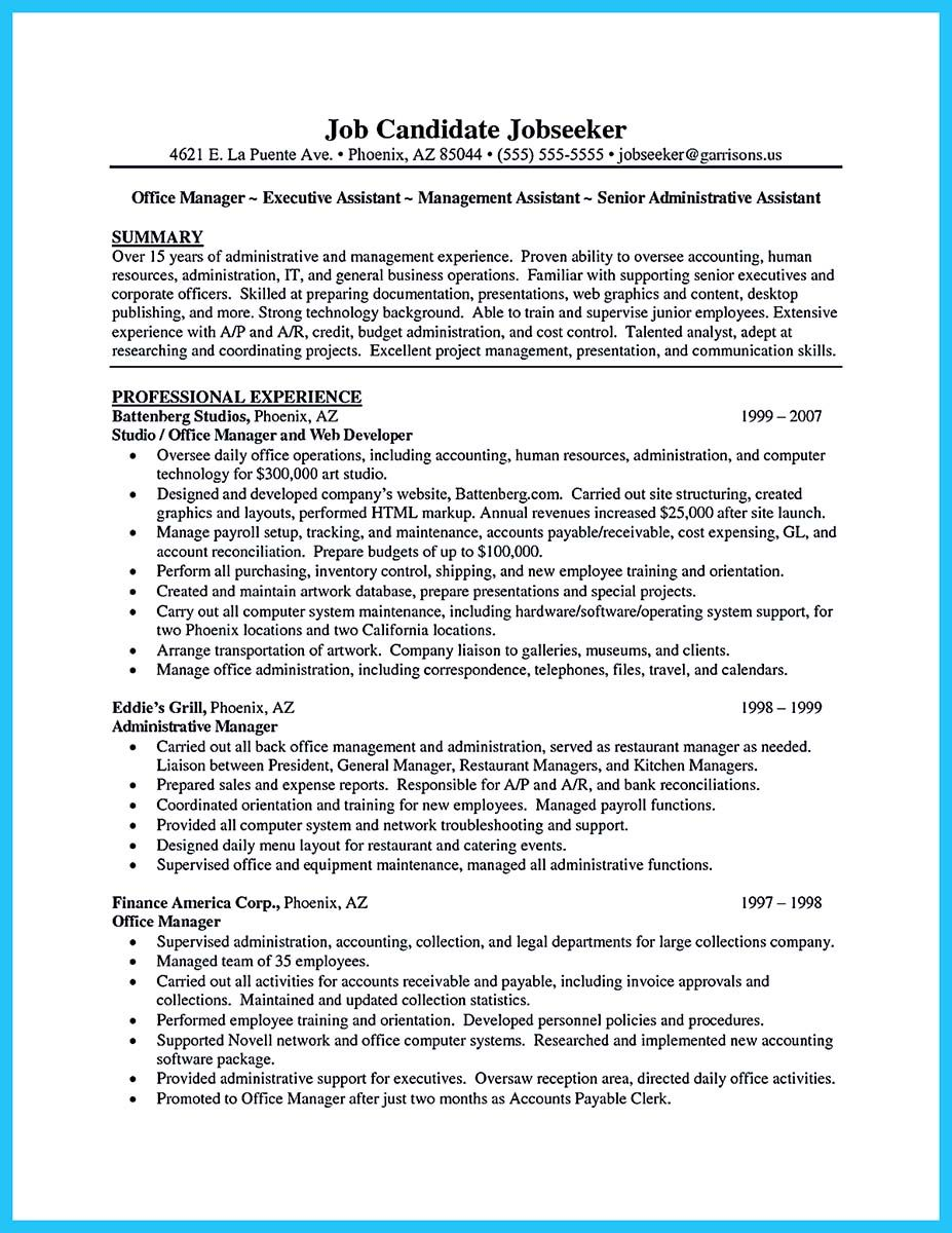 medical office, clerical office, assistant highlight, on sample administrative istant resume format