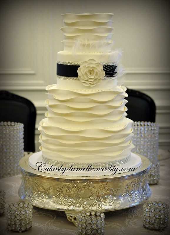 Wedding / Anniversary - Cakes By Danielle | ruffle/vintage ...