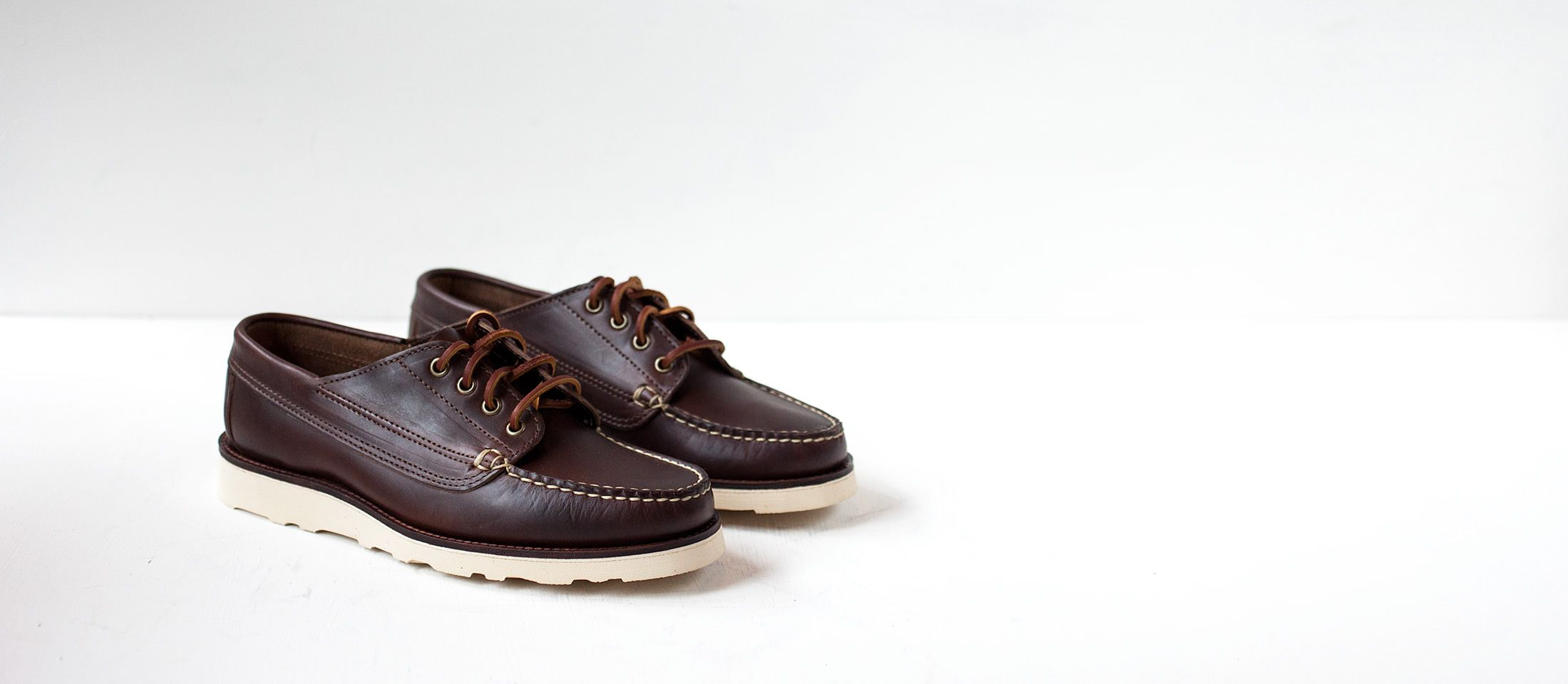 Oak Street Bootmakers - Vibram Sole Trail Oxford - French Garment Cleaners Co.