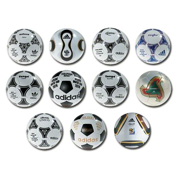 adidas Official FIFA World Cup Historical Match Ball Collection 2014