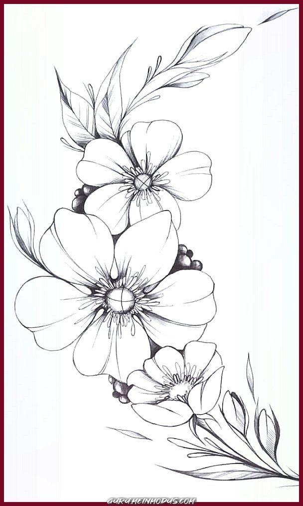 Kreative und Großartige Blumenbeschriftung #tattoos #tattoos - Body Art