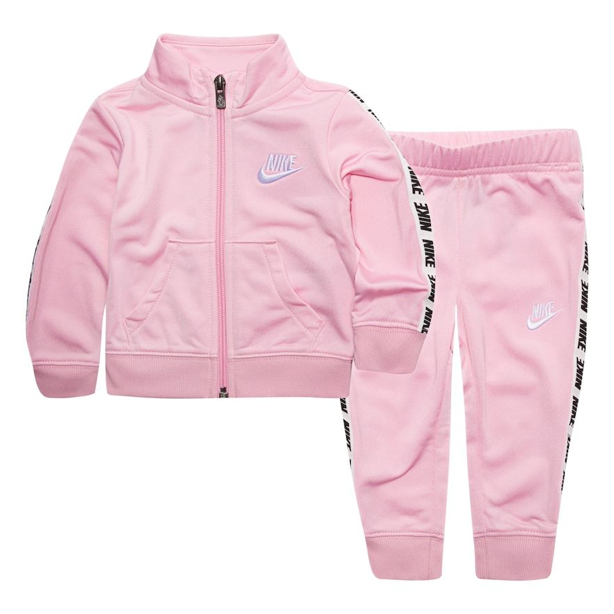 cda848370 Baby Girl Nike Track Jacket   Pants Set