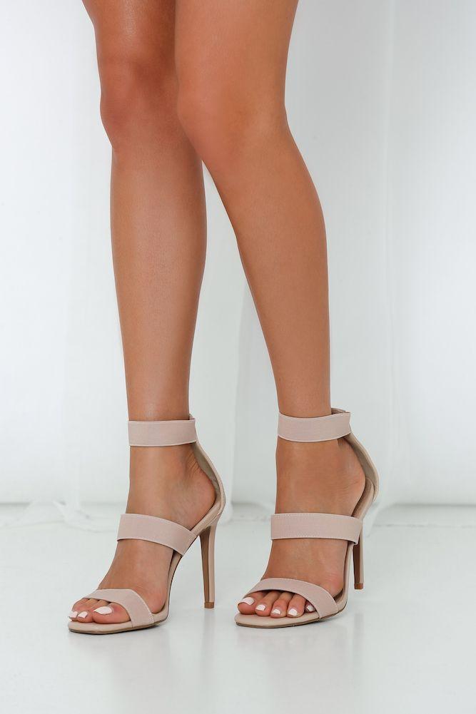 Rejina Black Block Heeled Strappy Sandals   Public Desire