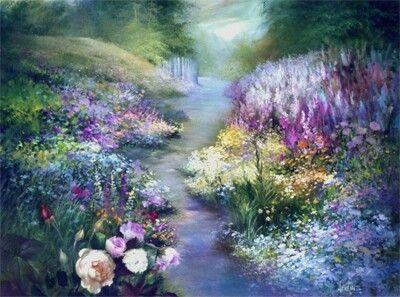 Gary Jenkins Painting Art Art Gary Jenkins Watercolor Landscape