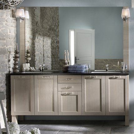 Meuble de salle de bains Vue sur mer - Delpha | Bath room, Bath ...