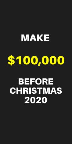 Make 100 000 Before Christmas 2020 In 2020 Earn Money Online Fast Finance Education List Of Jobs