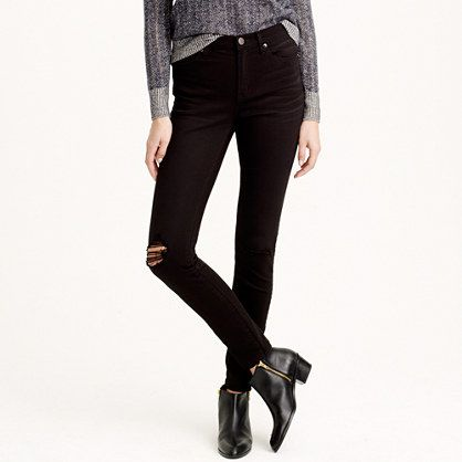 J.Crew - Lookout high-rise jean in blacksmith wash