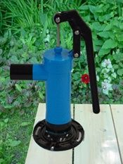 Hand Pump Water Play and lots more from the Natural Playgrounds Company Hand Pump Water Play and lots more from the Natural Playgrounds Company