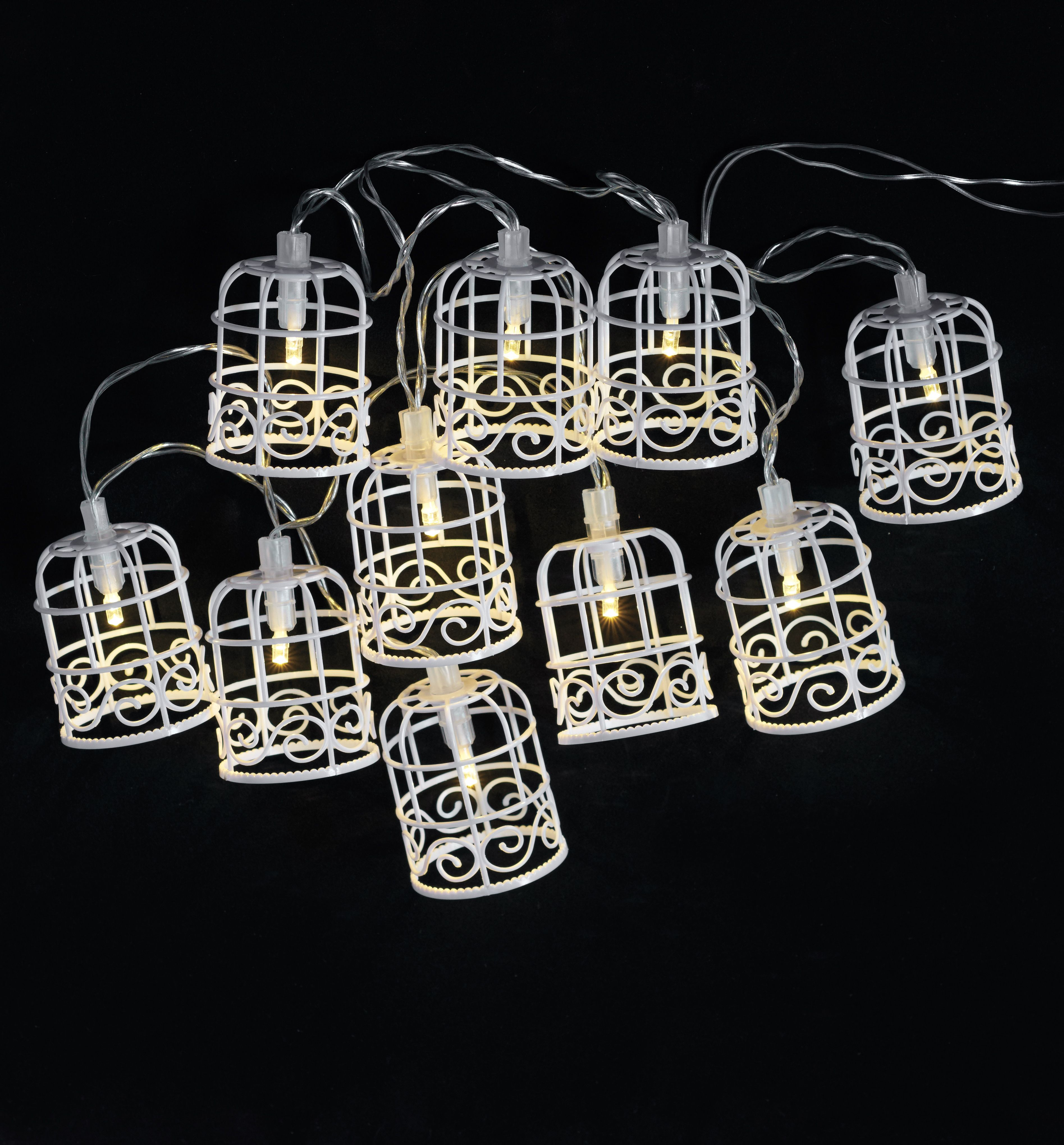 birdcage lighting. Show Off Your Unique Style With These Birdcage #patio #lights. They Are Also Lighting