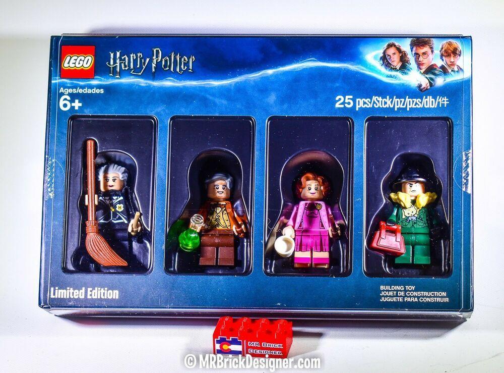 Lego 5005254 Harry Potter Bricktober Minifigure Collection Set Limited Edition Afflink When You Click On Links Lego Lego Harry Potter Harry Potter Professors