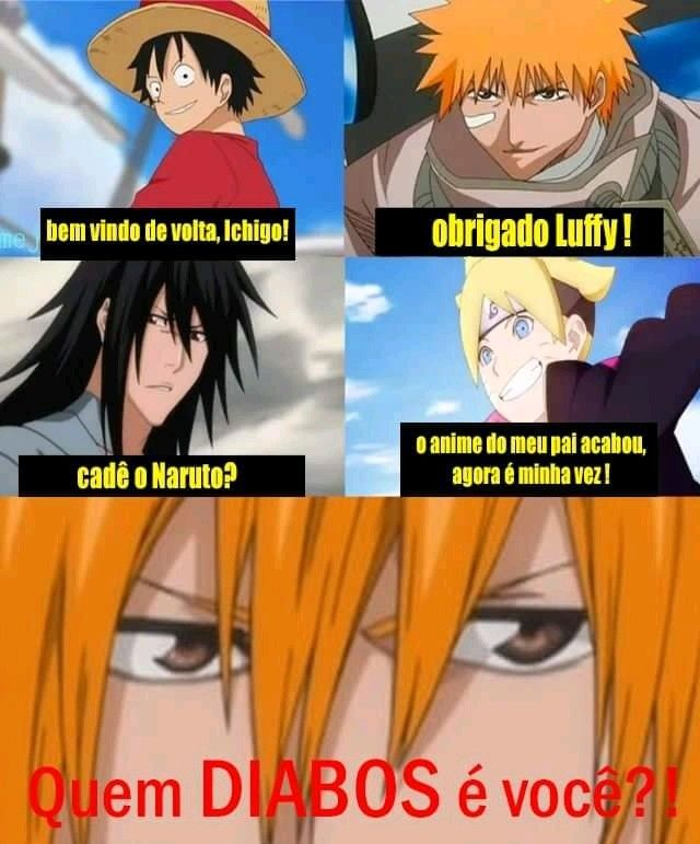 Eu To Ate Hoje Tentando Descobri Isso Ichigo Kkkkkkk Anime Memes Otaku Anime Naruto Memes