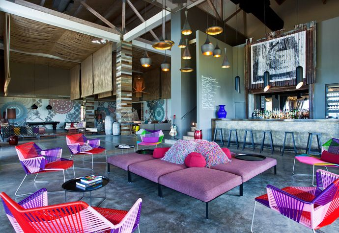 Beauty in Bars - W Retreat and Spa, Vieques Island, Puerto Rico