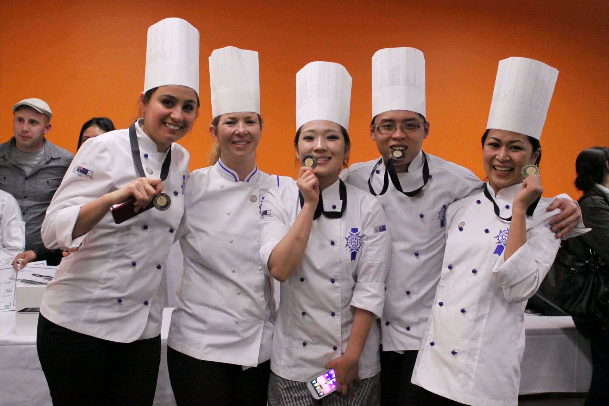 In September 2012 Four Cuisine Students From Le Cordon Bleu Australia Entered The Open Class Of The Culinary Competition At T Le Cordon Bleu Food Fair Student
