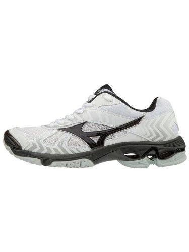 info for 3e749 9e1ce Mizuno Womens Volleyball Shoes - Wave Bolt 7 Women s Volleyball Shoes -  430238, Size  10 1 2 (1050), White-Black (0090)