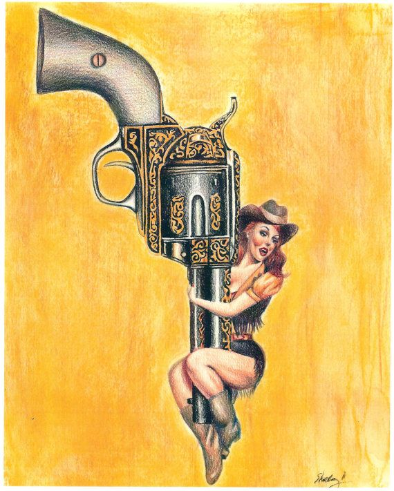Cowgirl - Pin Up