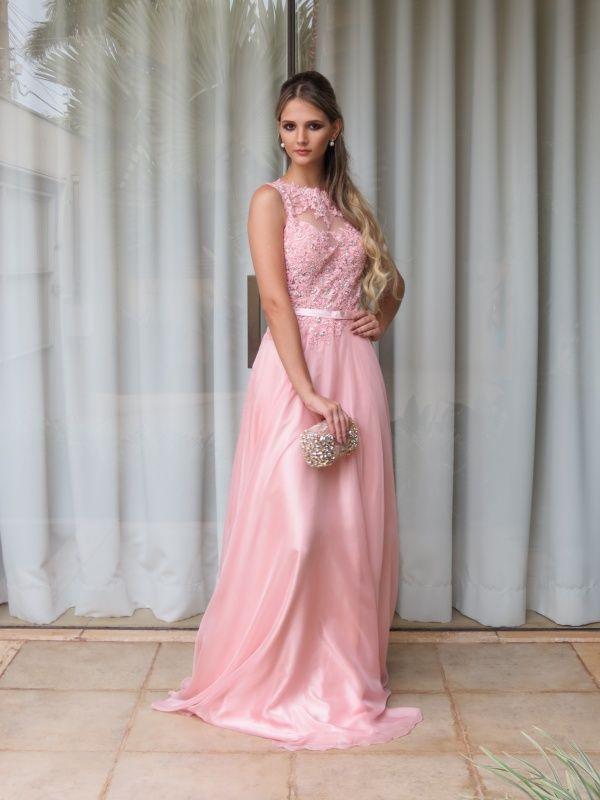 vestido madrinha rosa claro - Pesquisa Google …   Pinteres…