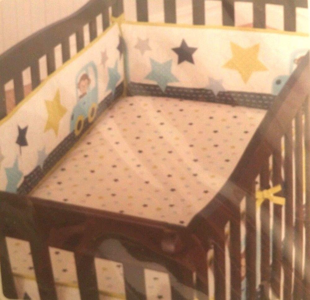 bumper navy crib for pin cribs skirt set pads air blanket pad bedding baby traffic