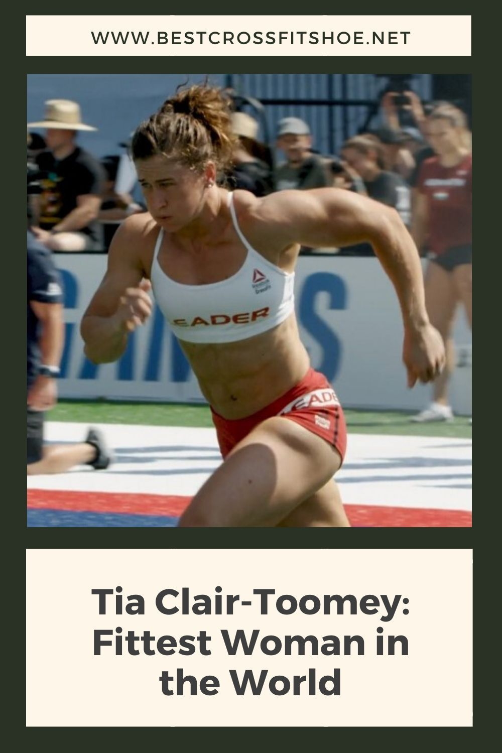 Tia Clair-Toomey is the reigning fittest woman in the world as decided at the CrossFit Games. Find o...
