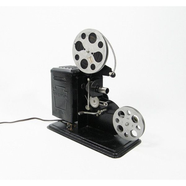 Hand Crank Movie Projector for Vintage 8mm film ($14