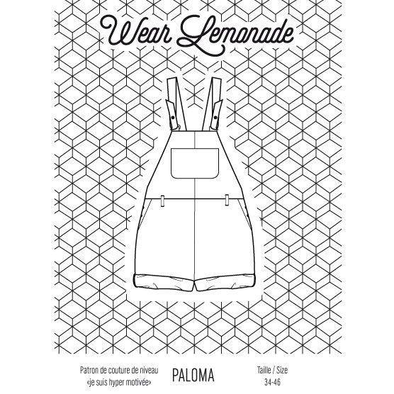 Patron de couture Paloma - PDF   size 36-46  gratuit