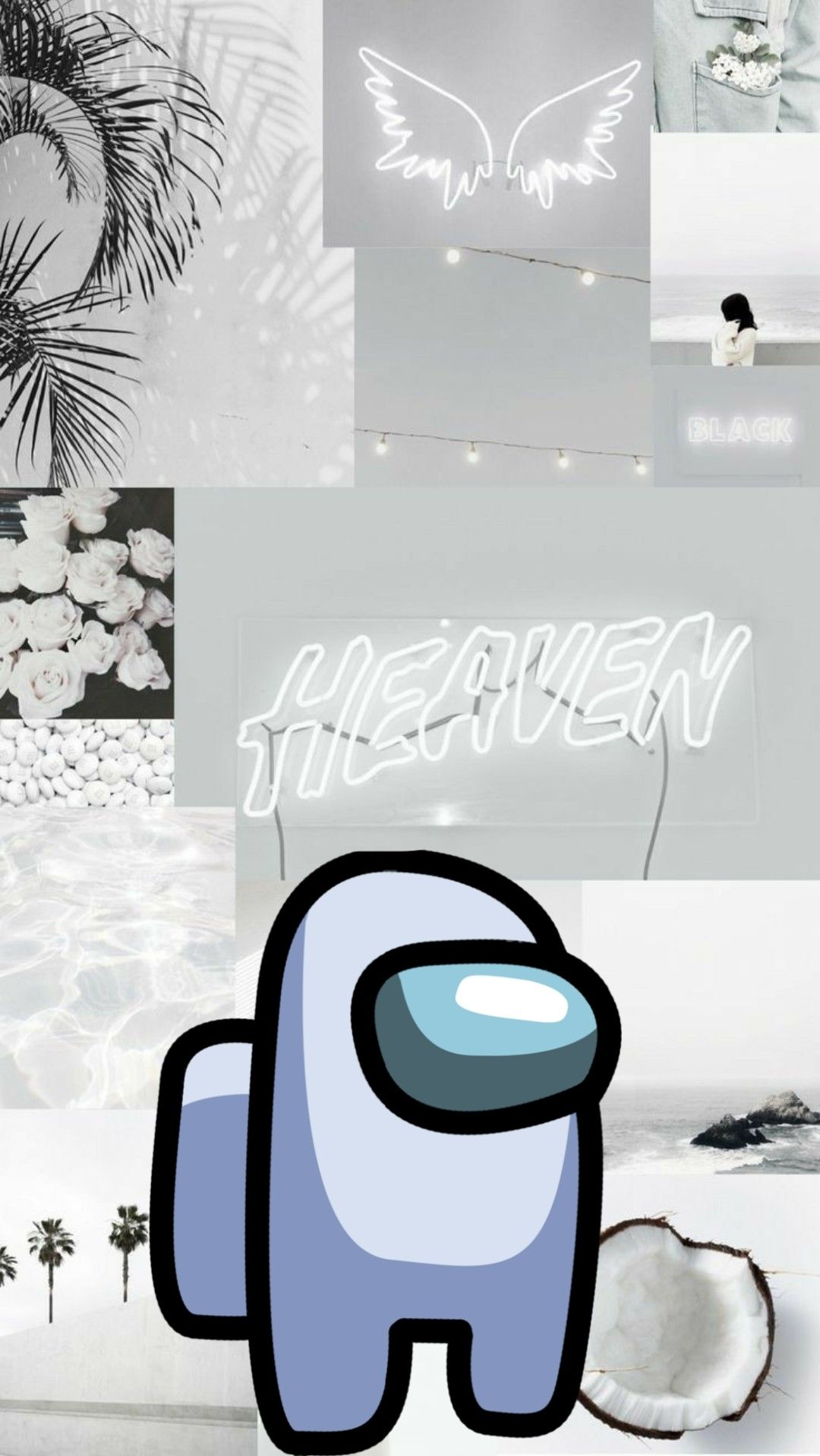 Among Us Wallpaper White Wallpaper Iphone Cute Cute Wallpapers Waves Wallpaper