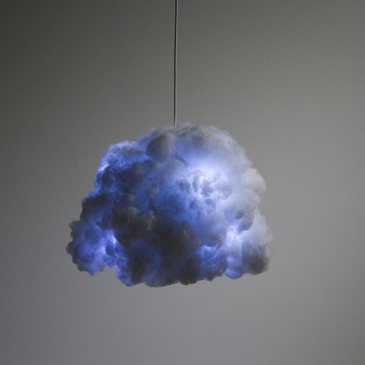 Interactive Cloud | Cloud lamp, Cloud lights, Lamp