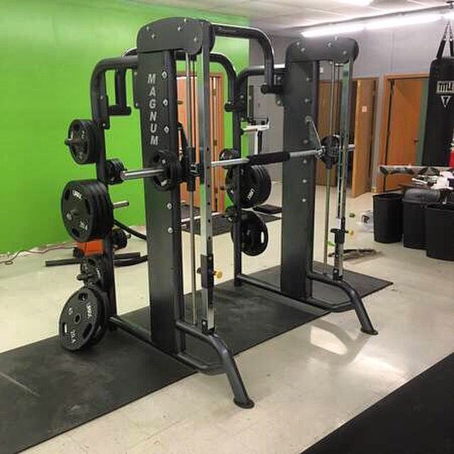 Magnum Fitness Smith Machine Model Mg A48 1875 Kansas City Mo Check Out All Of Our Inventory At Midwestusedfitnessequient Com Or Call Frank With Any Q