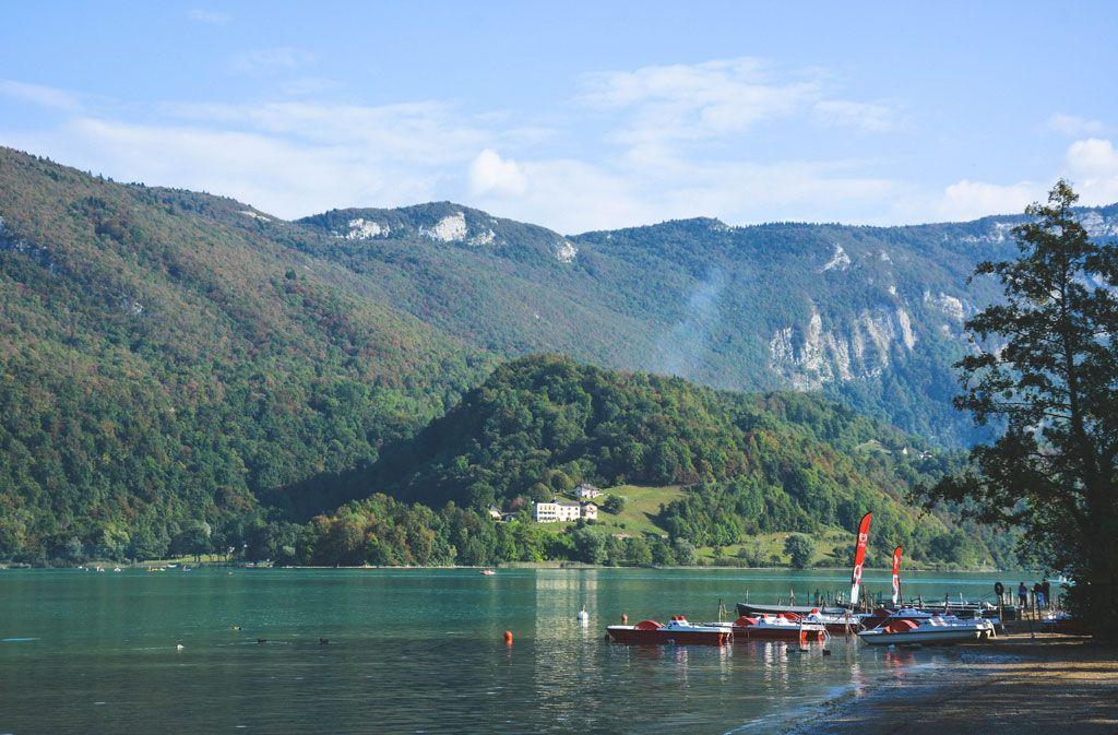 Savoie  Lac DAiguebelette  Mon Pays La France