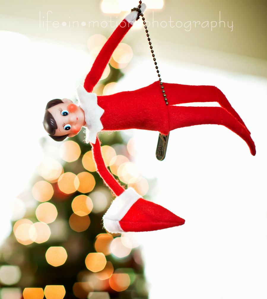 Forever wishing i had a kid so I could do Elf on the Shelf!!