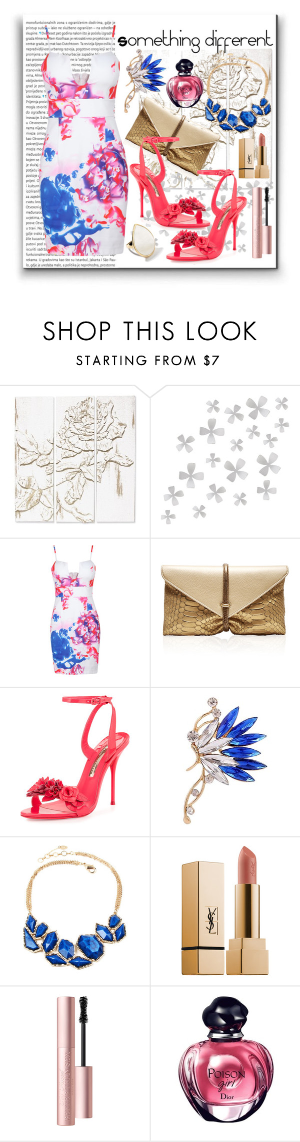 """""""Something different"""" by julyralewis ❤ liked on Polyvore featuring Oris, Palecek, Dot & Bo, VBH, Sophia Webster, Amrita Singh, Too Faced Cosmetics and Ippolita"""