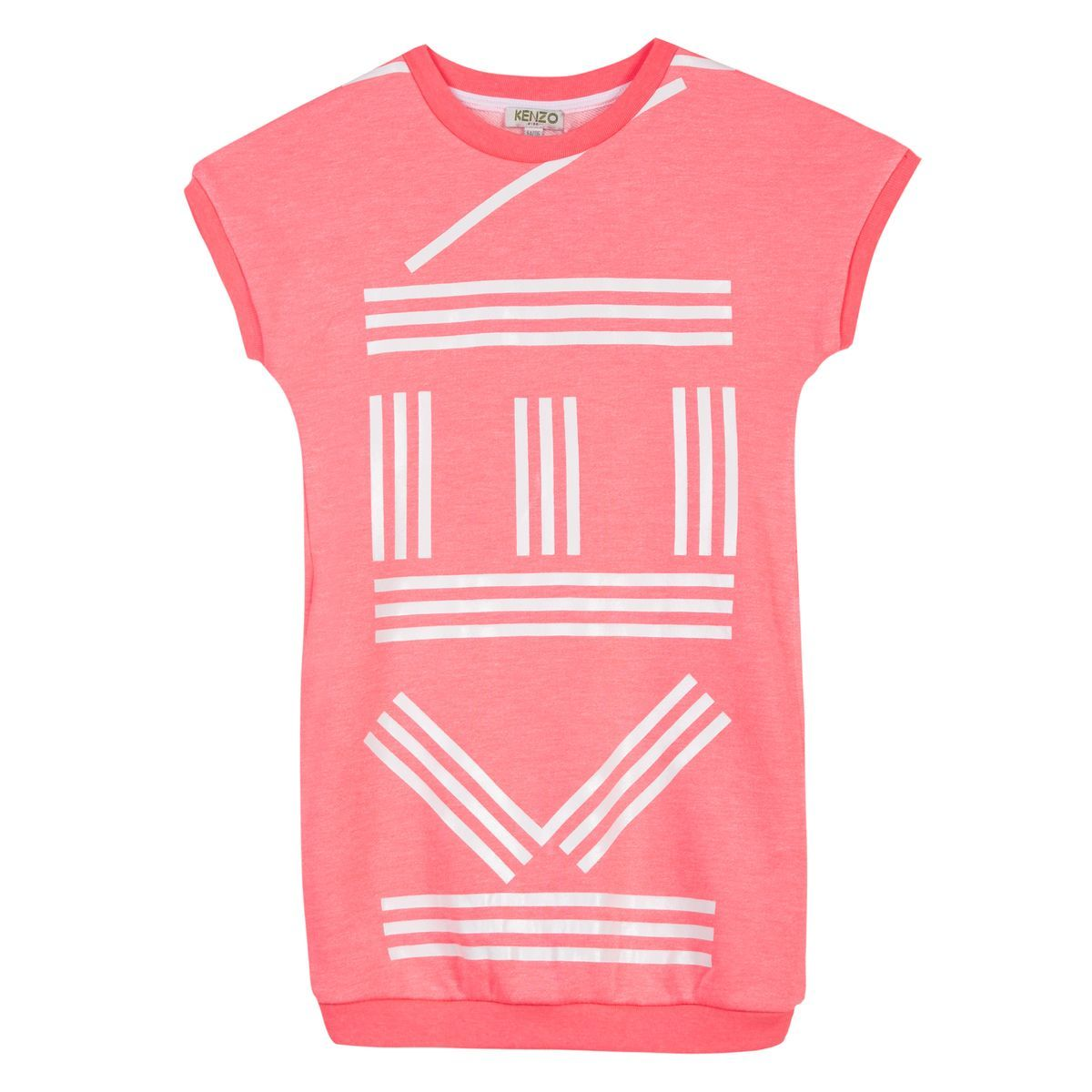 be7c7107 Kenzo Neo Pink Dress   Kenzo   Toddler girl dresses, Coral dress, Kenzo