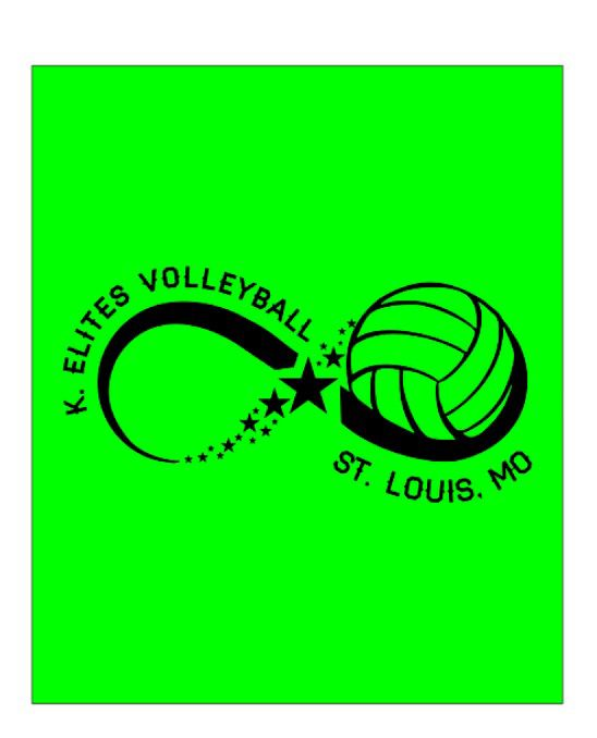 Summer 2015 Logo For K Elites Volleyball Volleyball Volleyball Clubs Sports Theme