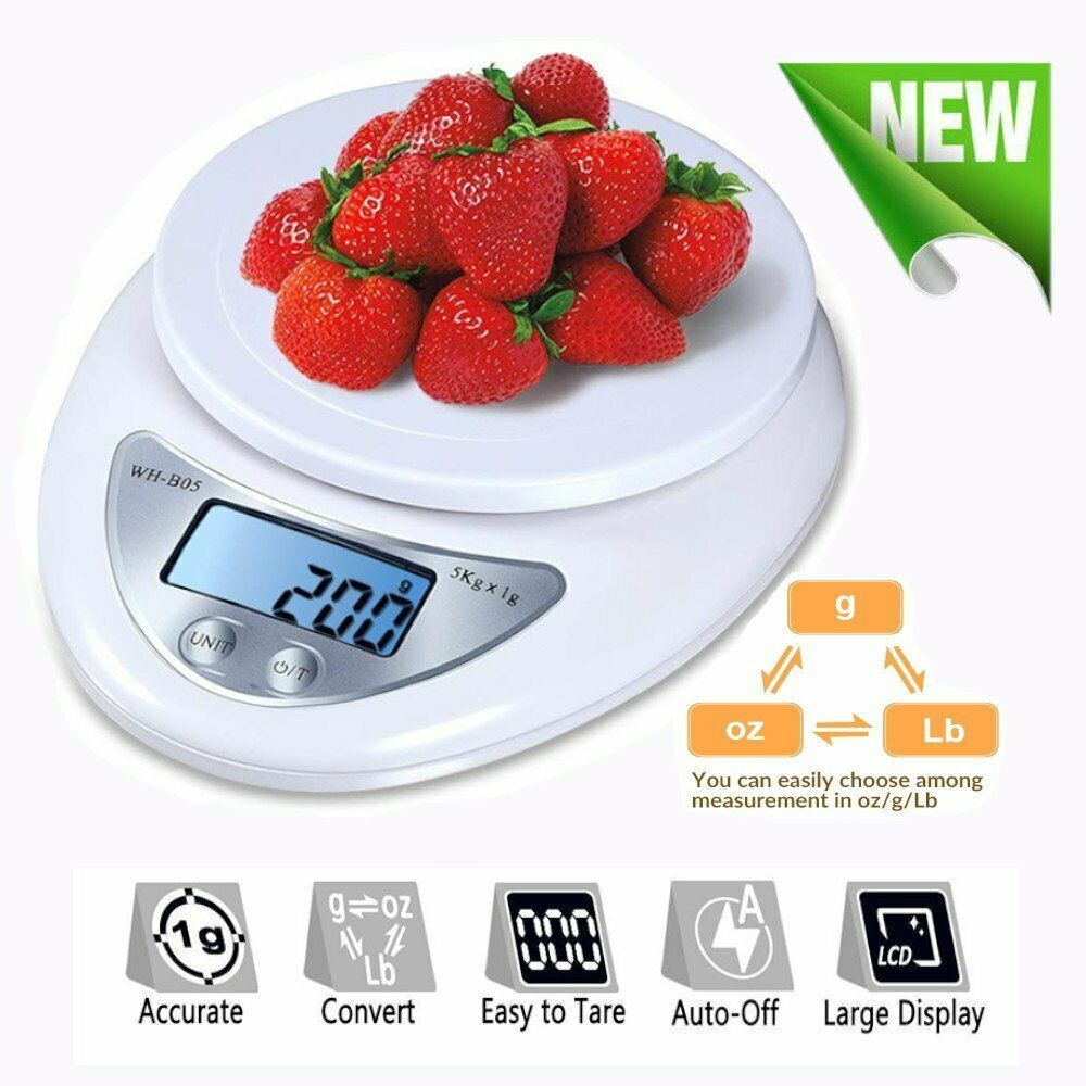 Ebay Sponsored Digital Kitchen Food Diet Scale Electronic Weight Scales Balance Weighting Vp Food Scale Diet Recipes Weight Scale