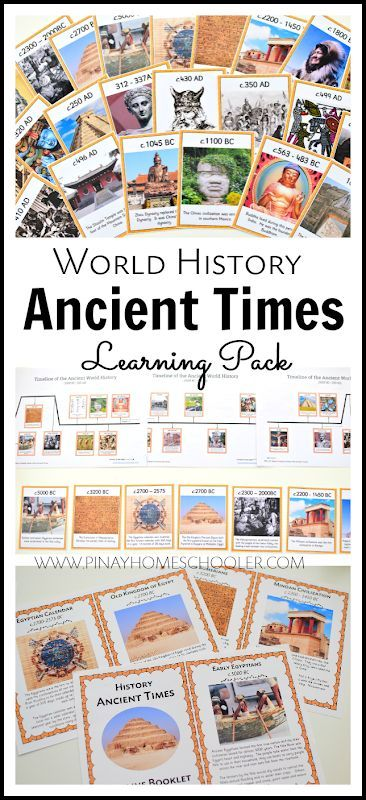 WORLD HISTORY ANCIENT TIMES LEARNING MATERIALS