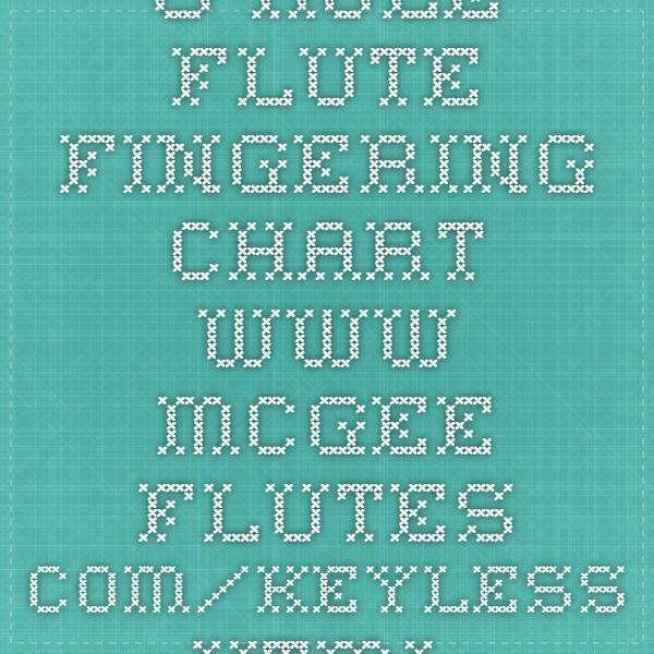Hole Flute Fingering Chart WwwMcgeeFlutesComKeylessHtml