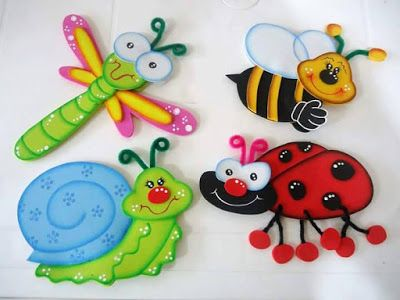 76540a707b0 Animalitos que Puedes Hacer con Goma Eva ¡Hermosos!