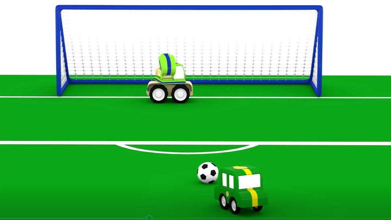 Cartoni animati la grande partita calcio per i bambini